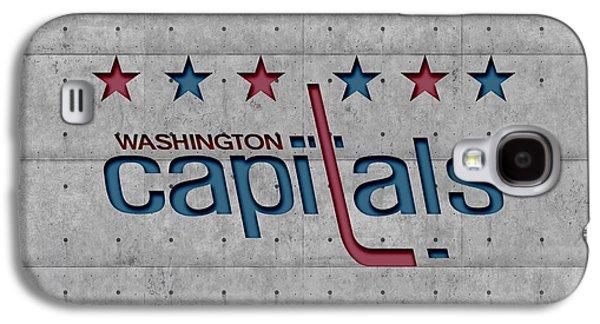 Capital Galaxy S4 Cases - Washington Capitals Galaxy S4 Case by Joe Hamilton