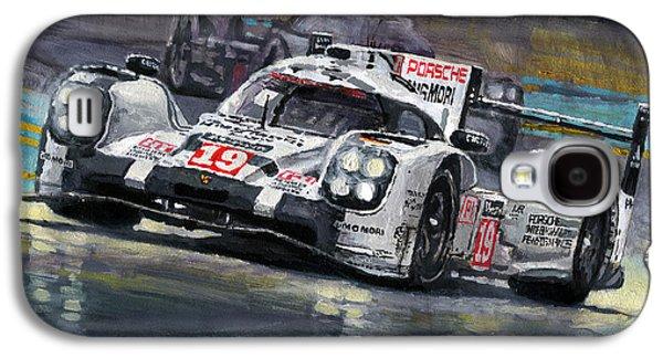 2015 Le Mans 24 Lmp1 Winner Porsche 919 Hybrid Bamber Tandy Hulkenberg Galaxy S4 Case by Yuriy Shevchuk