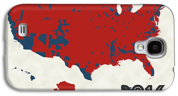 2016 Election Results Galaxy S4 Case by Finlay McNevin