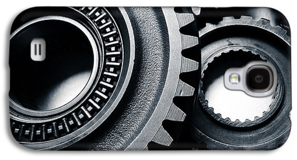 Mechanism Galaxy S4 Cases - Cogs  Galaxy S4 Case by Les Cunliffe