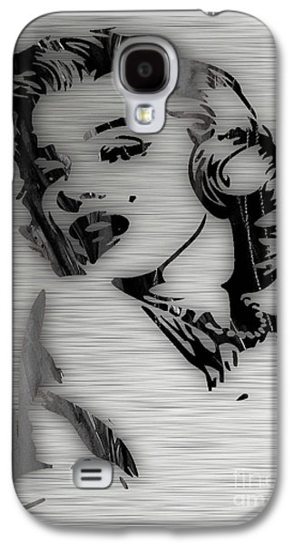 Star Galaxy S4 Cases - Marilyn Monroe Collection Galaxy S4 Case by Marvin Blaine
