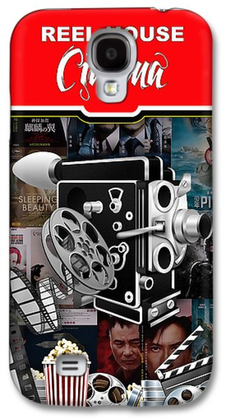 Movie Room Decor Collection Galaxy S4 Case by Marvin Blaine