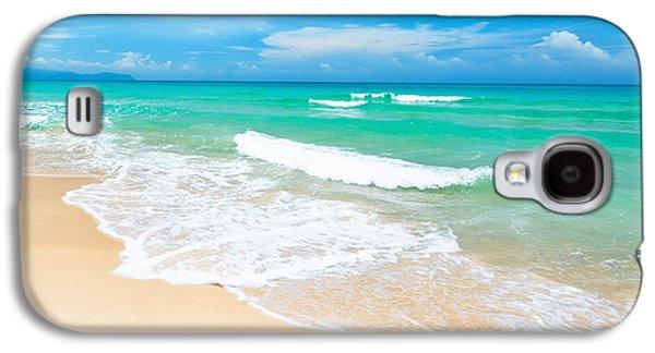 Beach Galaxy S4 Case by MotHaiBaPhoto Prints