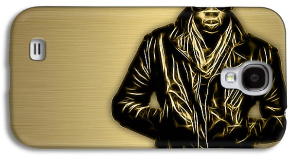 Jay Z Galaxy S4 Cases - Jay Z Collection Galaxy S4 Case by Marvin Blaine