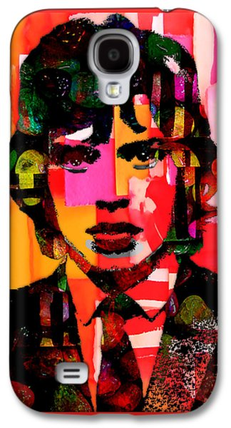 Mick Jagger Collection Galaxy S4 Case by Marvin Blaine
