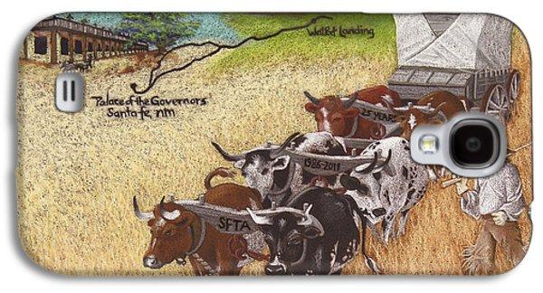 25th Anniversary Santa Fe Trail Association Galaxy S4 Case by Tracy L Teeter