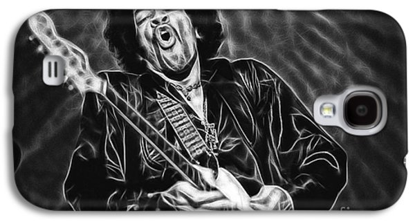 Jimi Hendrix Galaxy S4 Cases - Jimi Hendrix Collection Galaxy S4 Case by Marvin Blaine