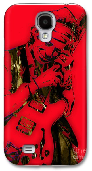 Keith Richards Galaxy S4 Cases - Keith Richards Collection Galaxy S4 Case by Marvin Blaine