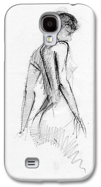Figure Drawing Galaxy S4 Cases - RCNpaintings.com Galaxy S4 Case by Chris N Rohrbach