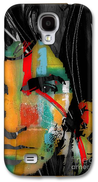 Bruce Springsteen Mixed Media Galaxy S4 Cases - Bruce Springsteen Collection Galaxy S4 Case by Marvin Blaine