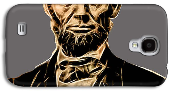 Abraham Lincoln Galaxy S4 Cases - Abraham Lincoln Collection Galaxy S4 Case by Marvin Blaine