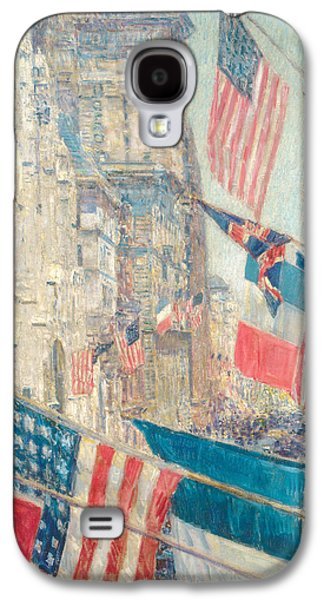 Allies Day, May 1917 Galaxy S4 Case by Childe Hassam