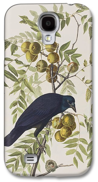 American Crow Galaxy S4 Case by John James Audubon