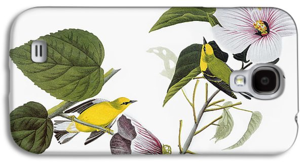 19th Century America Galaxy S4 Cases - Audubon: Warbler, (1827-38) Galaxy S4 Case by Granger