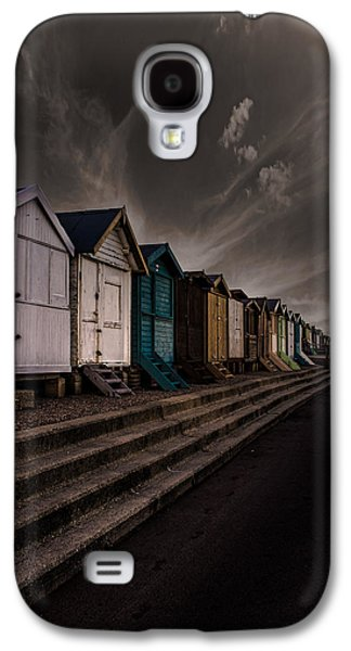 Beach Huts Galaxy S4 Case by Martin Newman
