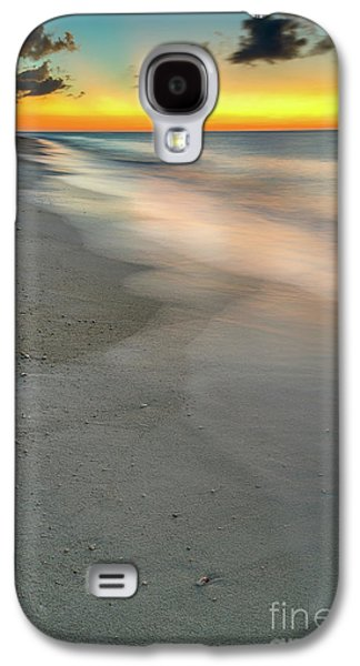 Sun Galaxy S4 Cases - Beach Sunset Galaxy S4 Case by Adrian Evans