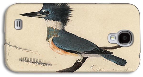 Belted Kingfisher Galaxy S4 Case by John James Audubon