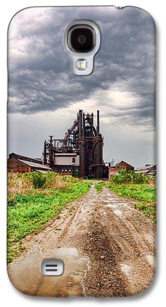 Bethlehem Galaxy S4 Cases - Bethlehem Steel Galaxy S4 Case by Michael Dorn