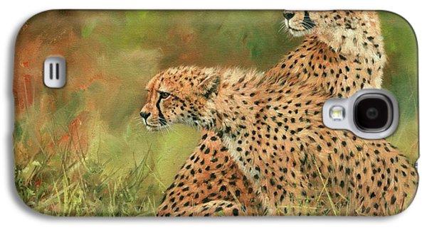 Cheetahs Galaxy S4 Case by David Stribbling