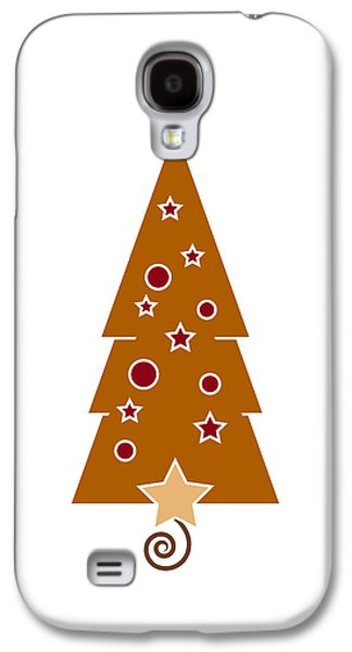 Holy Drawings Galaxy S4 Cases - Christmas Tree Galaxy S4 Case by Frank Tschakert