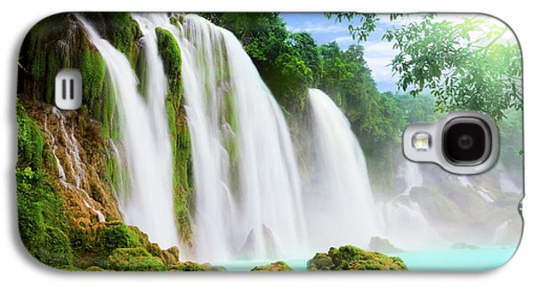 Detian Waterfall Galaxy S4 Case by MotHaiBaPhoto Prints