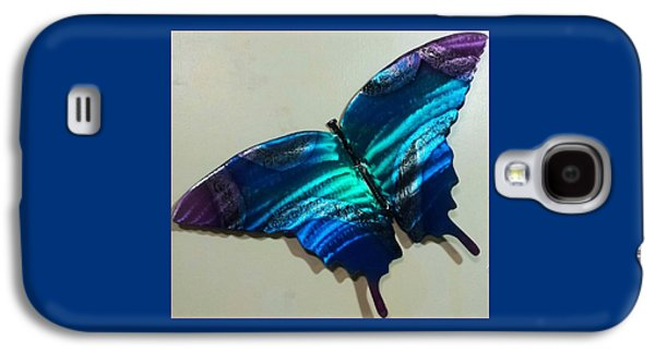 Butterflies Reliefs Galaxy S4 Cases - Fly Away Butterfly Galaxy S4 Case by The  Torchcutters