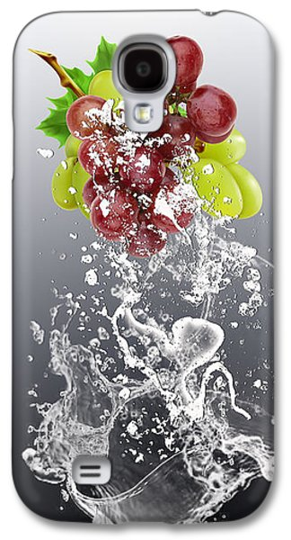 Grape Splash Galaxy S4 Case by Marvin Blaine