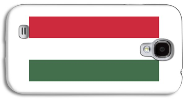 Waving Flag Mixed Media Galaxy S4 Cases - Hungary Flag Galaxy S4 Case by Frederick Holiday