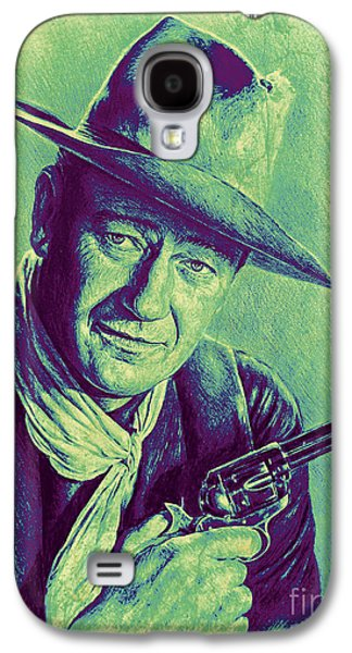 John Wayne Galaxy S4 Case by Andrew Read