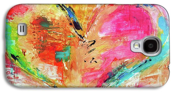 Christian work Paintings Galaxy S4 Cases - Love is Divine Galaxy S4 Case by Ivan Guaderrama
