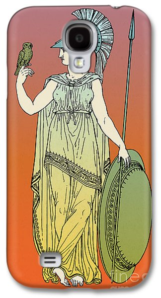 Recently Sold -  - Fantasy Photographs Galaxy S4 Cases - Minerva, Roman Goddess Of Medicine Galaxy S4 Case by Photo Researchers