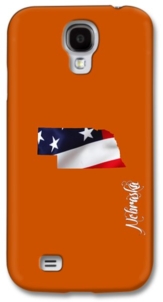 Nebraska State Map Collection Galaxy S4 Case by Marvin Blaine