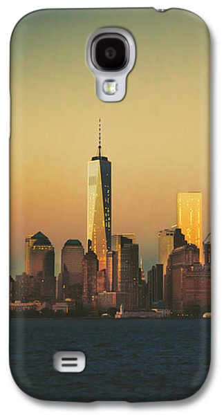 Sun Galaxy S4 Cases - New York City Skyline Galaxy S4 Case by Vivienne Gucwa