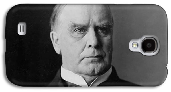 Williams Galaxy S4 Cases - President William McKinley Galaxy S4 Case by War Is Hell Store