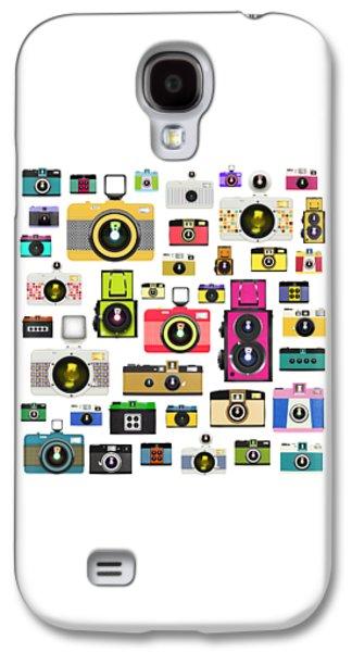Aperture Galaxy S4 Cases - Retro Camera Galaxy S4 Case by Setsiri Silapasuwanchai