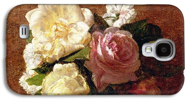 Roses Galaxy S4 Case by Ignace Henri Jean Fantin-Latour