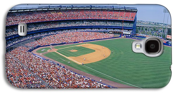 Sports Photographs Galaxy S4 Cases - Shea Stadium, Ny Mets V. Sf Giants, New Galaxy S4 Case by Panoramic Images