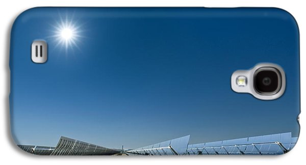 Technological Photographs Galaxy S4 Cases - Solar Power Plant, California, Usa Galaxy S4 Case by David Nunuk