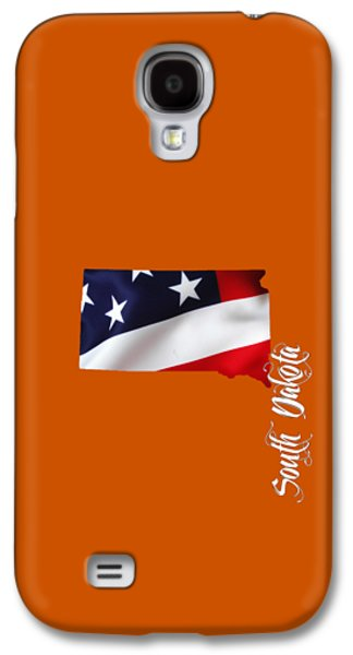 South Dakota Map Collection Galaxy S4 Case by Marvin Blaine