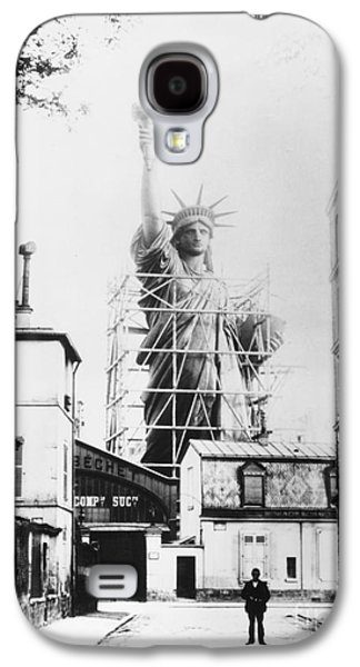 Statue Of Liberty, Paris Galaxy S4 Case by Granger