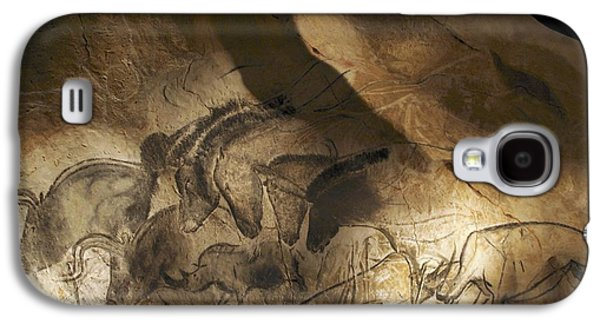 Fauna Photographs Galaxy S4 Cases - Stone-age Cave Paintings, Chauvet, France Galaxy S4 Case by Javier Truebamsf