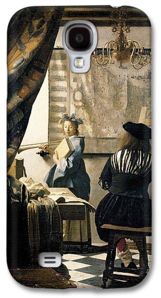 The Artist's Studio Galaxy S4 Case by Jan Vermeer