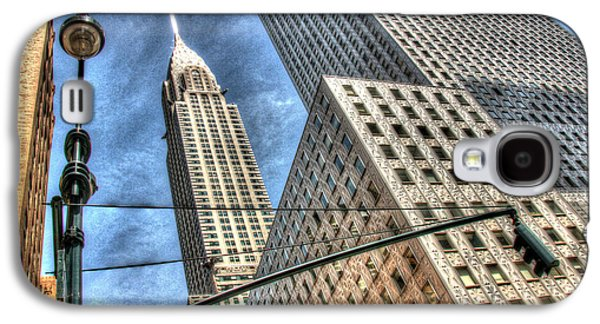 Business Galaxy S4 Cases - The Chrysler Building Galaxy S4 Case by Allen Beatty