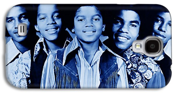The Jackson 5 Collection Galaxy S4 Case by Marvin Blaine
