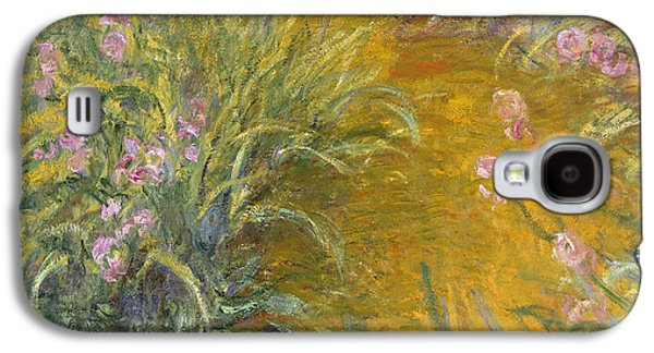 The Path Through The Irises Galaxy S4 Case by Claude Monet