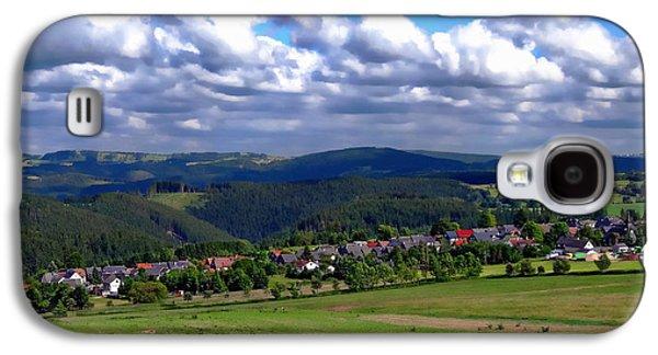 Landmarks Photographs Galaxy S4 Cases - Thuringia Landscape Galaxy S4 Case by Anthony Dezenzio