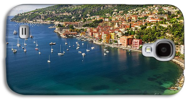 Transportation Photographs Galaxy S4 Cases - Villefranche-sur-Mer view on French Riviera Galaxy S4 Case by Elena Elisseeva