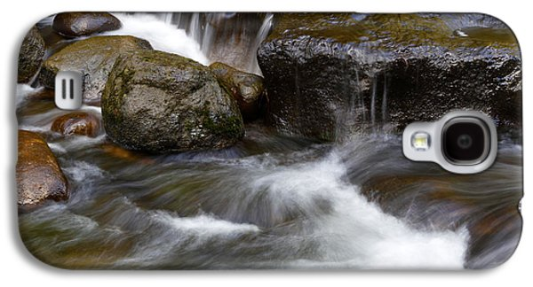 Beautiful Creek Galaxy S4 Cases - Water flow Galaxy S4 Case by Les Cunliffe