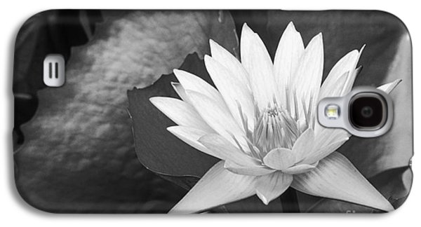 Nature Center Pond Galaxy S4 Cases - Water Lily Galaxy S4 Case by Bill Brennan - Printscapes