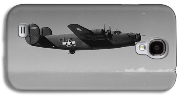 Wwii Us Aircraft In Flight Galaxy S4 Case by American School